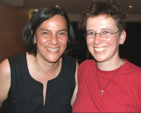 Monica Orjeda y Anne Frisius